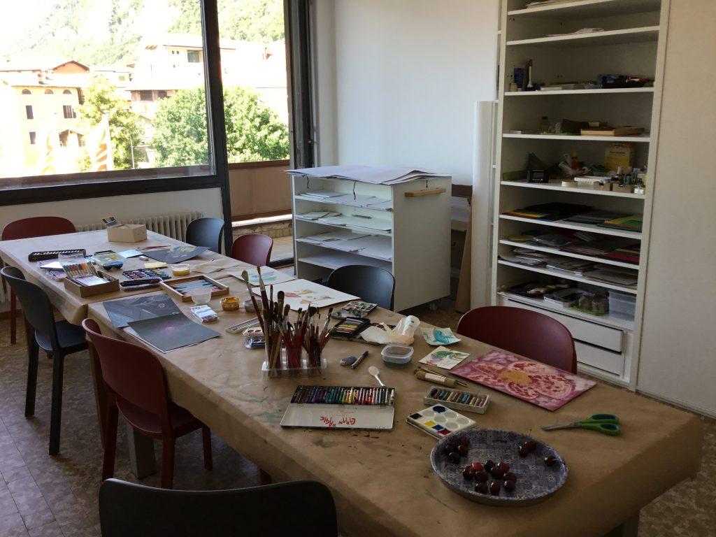 Pomeriggio d'arte con ciliegie