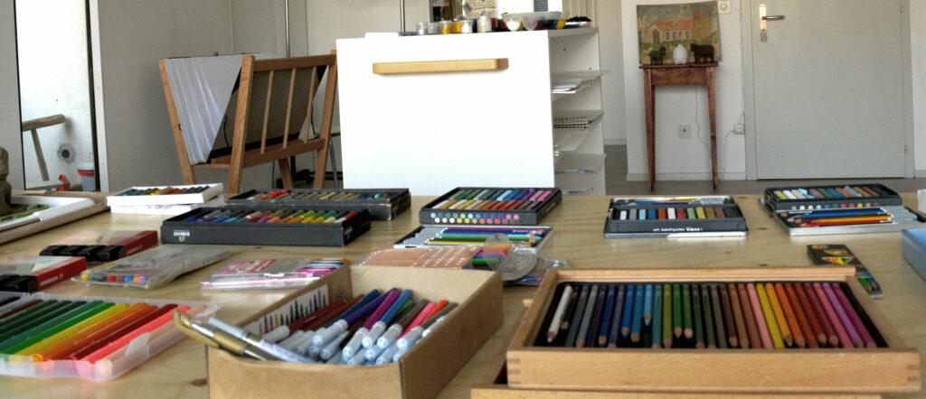 di matite e di colori